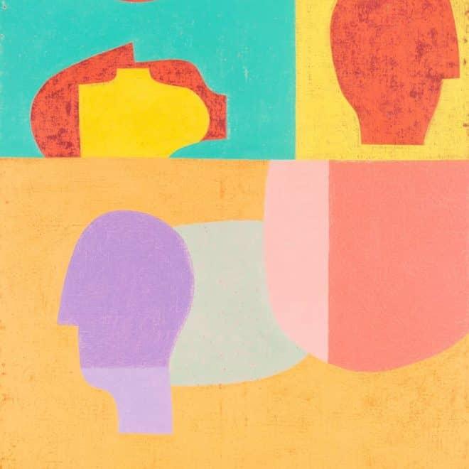 Paysage sous-marin (Barnabé), 11.06.12, pigment et feu sur papier, 54 x 75 cm