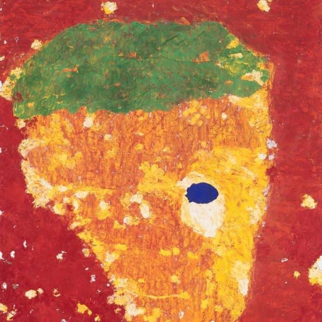 Bertille, 07.02.18, huile sur toile, 100 x 81