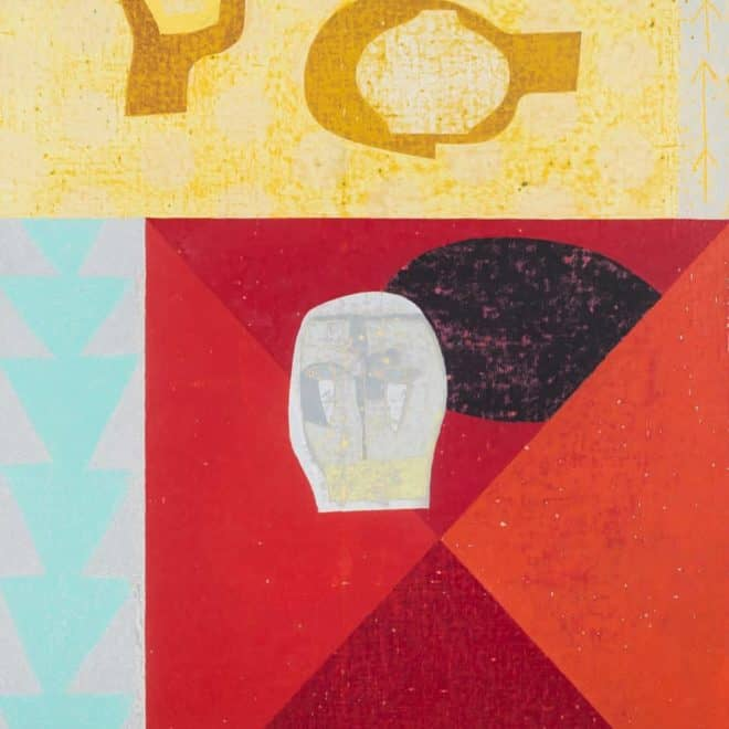 Paulin, 28.04.19, huile sur toile, 100 x 81