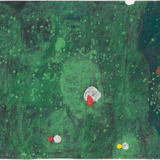 Salvi, 14.02.18, huile sur toile, 100 x 81
